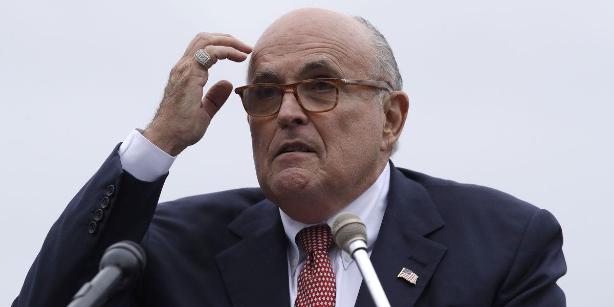 Giuliani: 'Over my dead body' will Mueller interview Trump