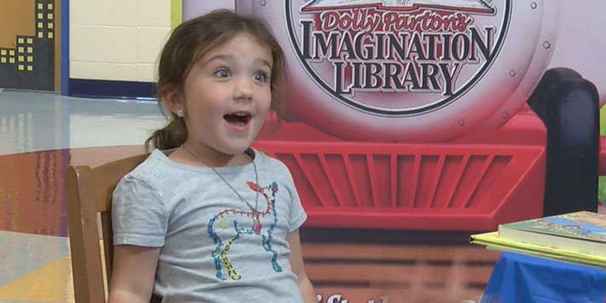 Marion County kids share excitement for Imagination Library books