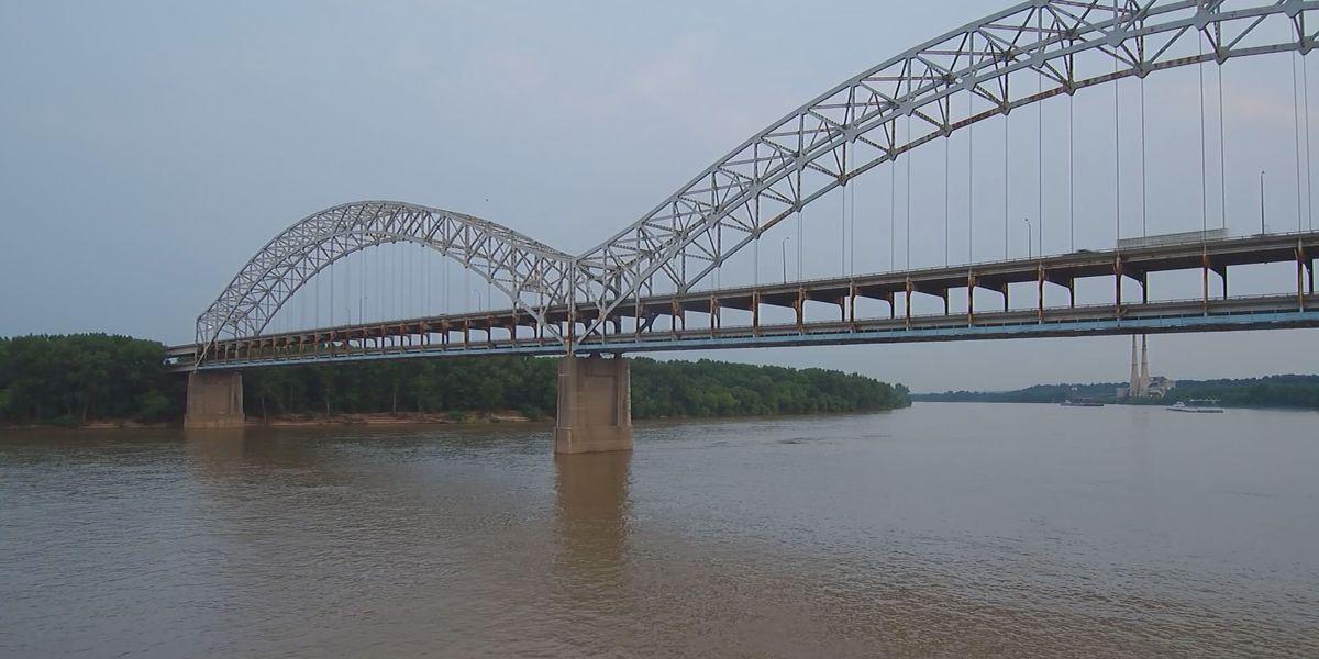 Lane closures set for Sunday on Sherman Minton Bridge for inspection
