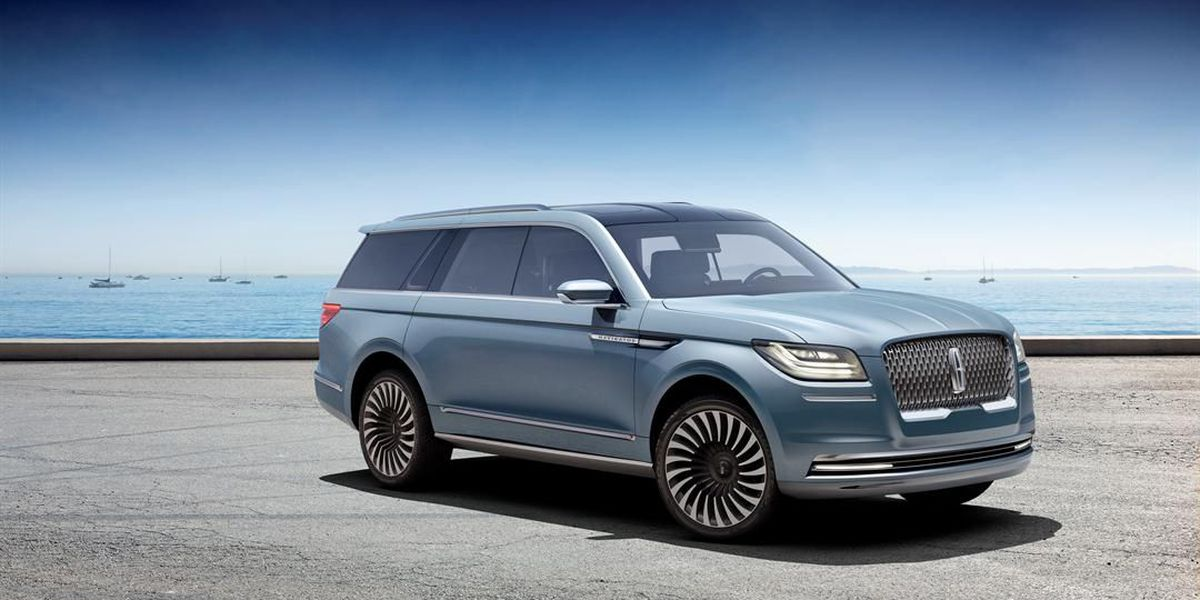 IMAGES: Take a look at Lincoln's new Navigator Concept