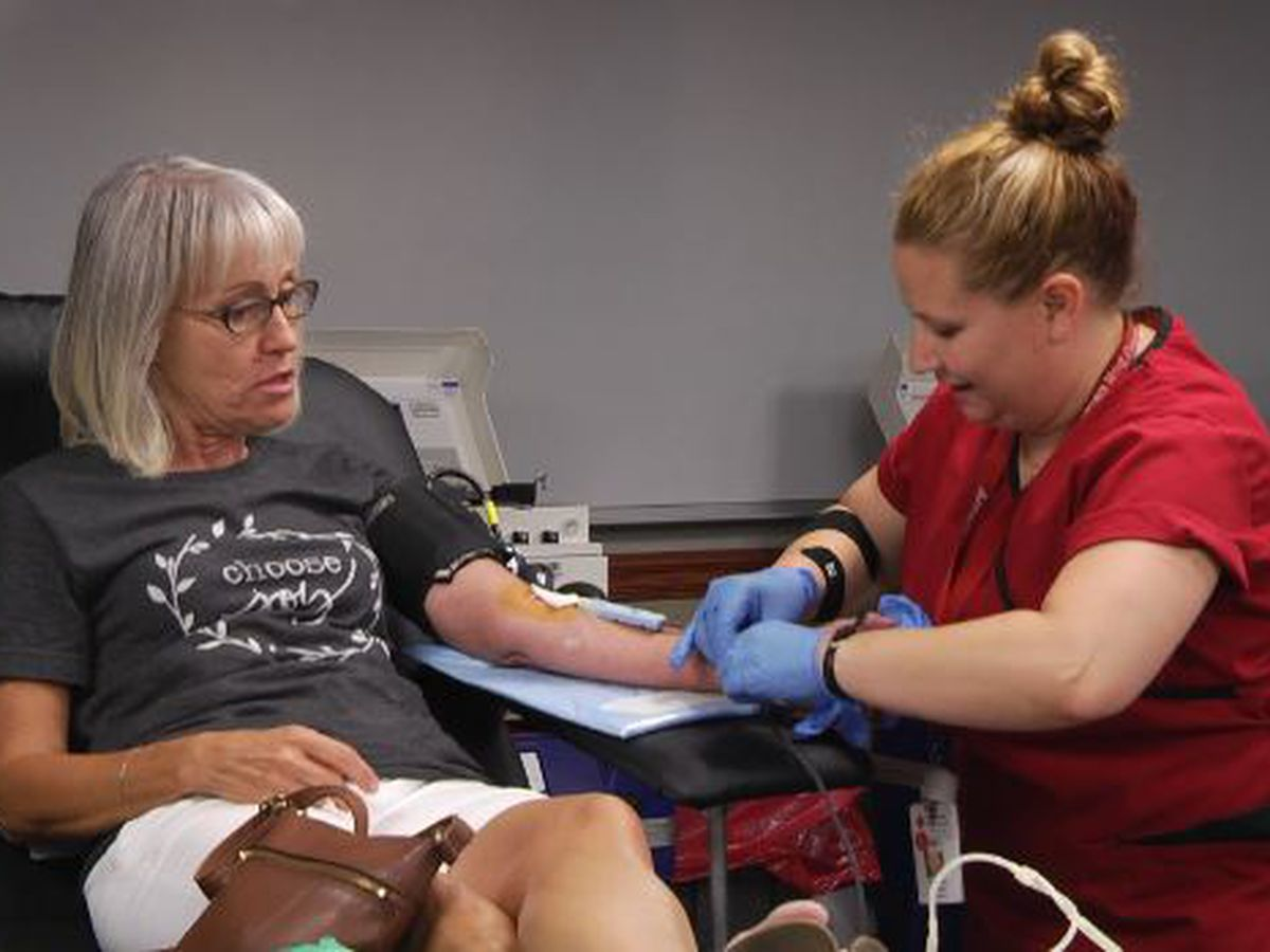 American Red Cross in need of blood donations
