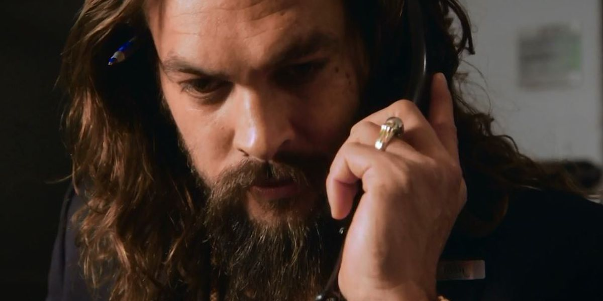 Jason Momoa is the world's best NBC page