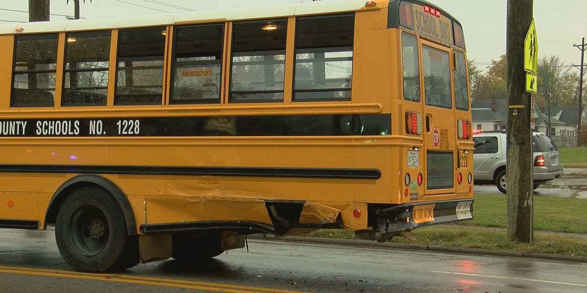Multiple students injured in JCPS bus crash
