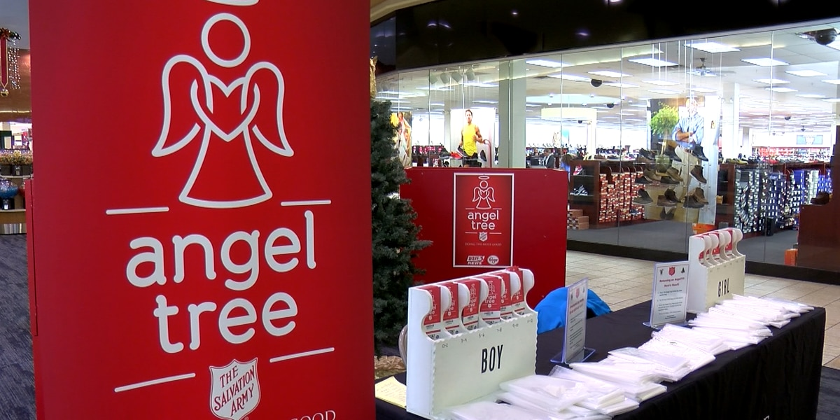 Salvation Army Angel Tree adoptions in Louisville happening now through December 9