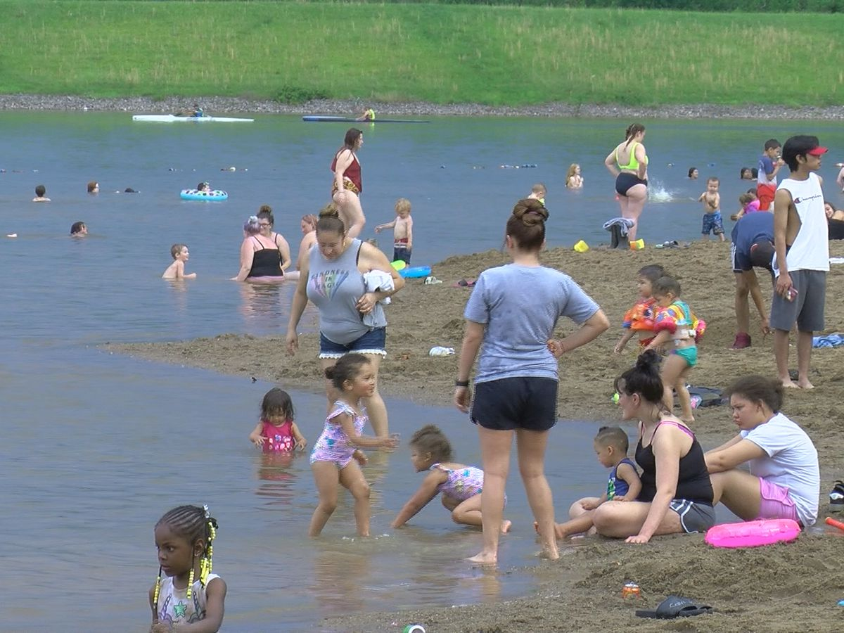 Deam Lake draws Memorial Day crowd after reopening with new guidelines