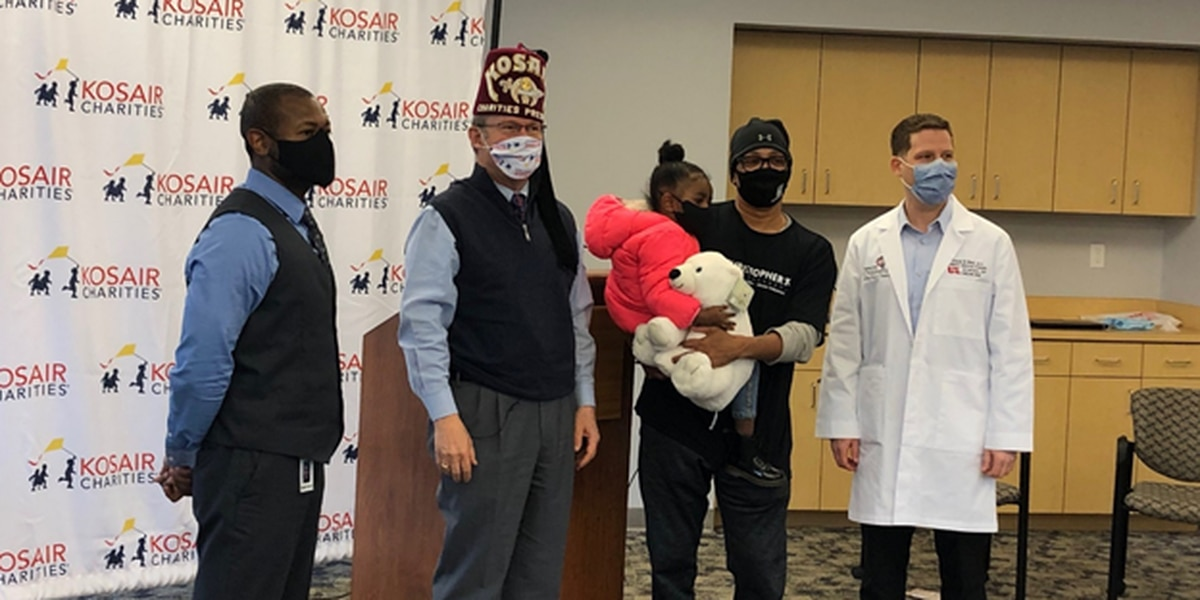 Kosair Charities donates 100 thousand masks to Game Changers 'Masks for Kids' initiative