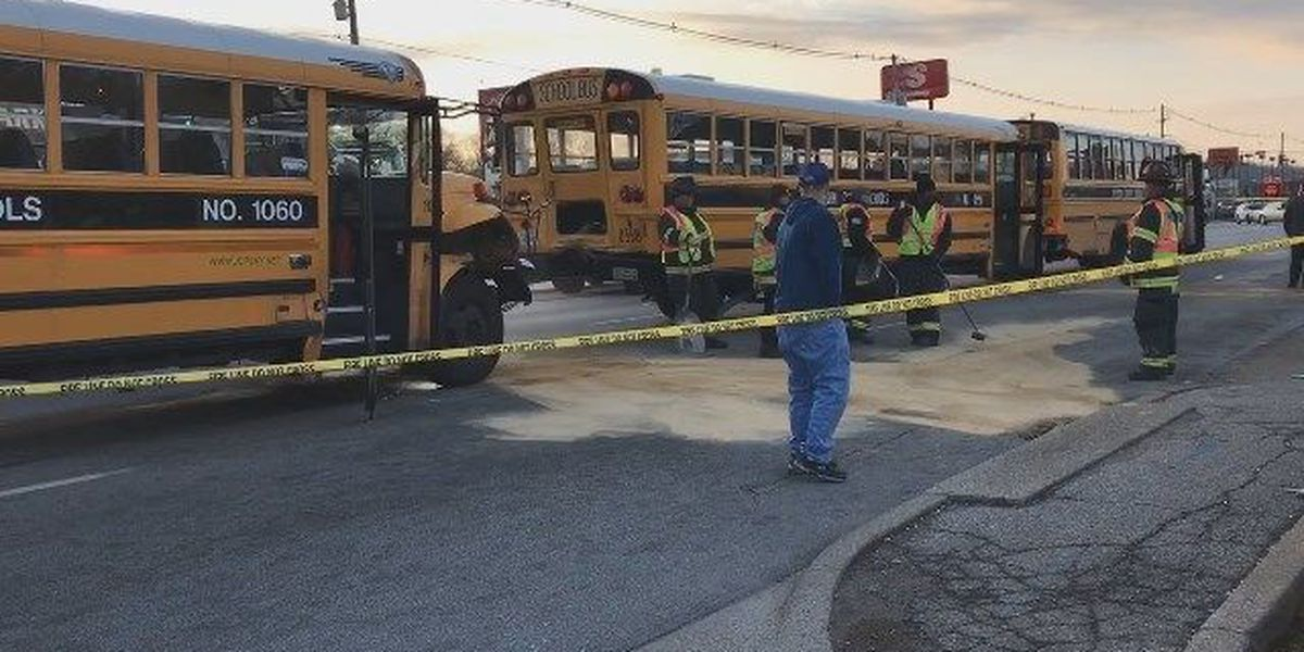 Audio released from JCPS school bus crash