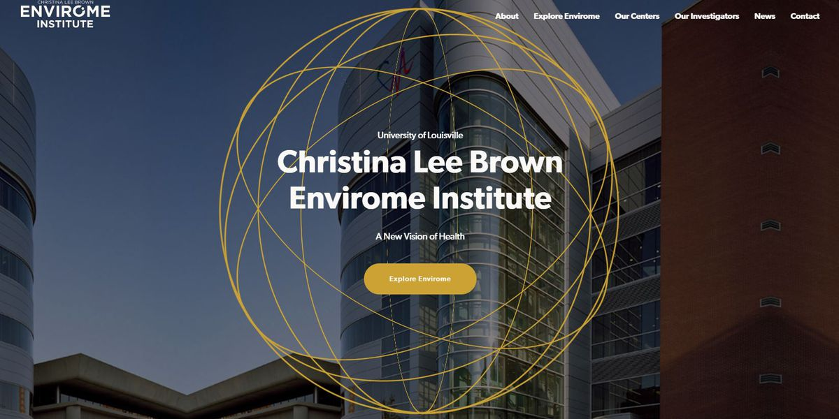 Envirome Institute creates Louisville Data Commons, online repository for health and environment data