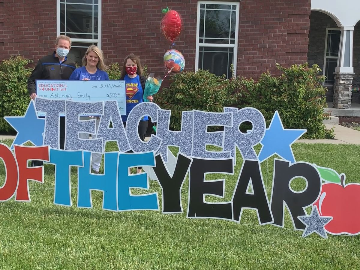 Greater Clark County Schools surprise year end award winners