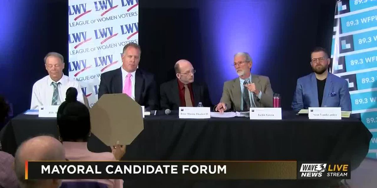 VIDEO: Independent candidates duke it out in mayoral debate