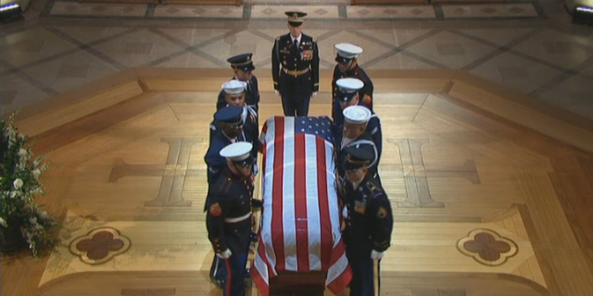 Kentucky natives participate in former President George H. W. Bush's State Funeral