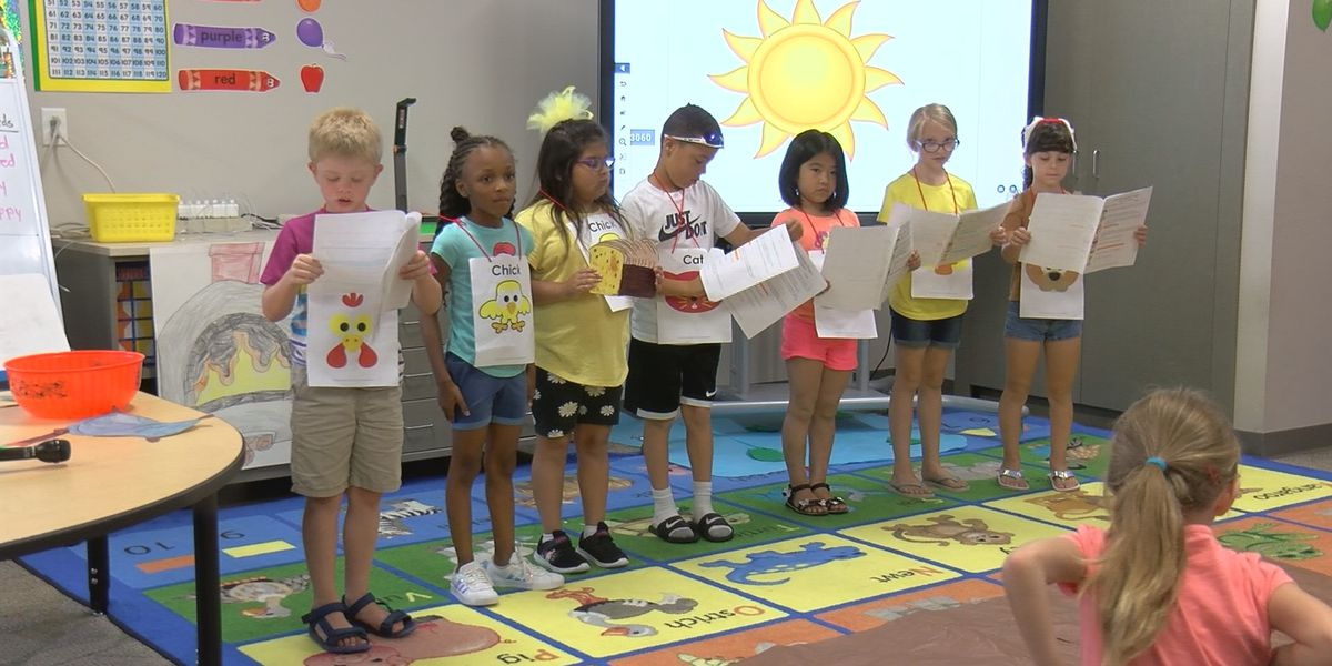 New Albany students celebrate end of summer reading program