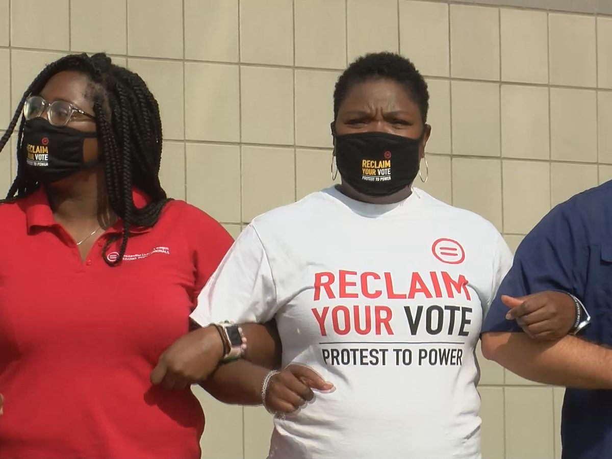 Local organizations push for the Black vote and change
