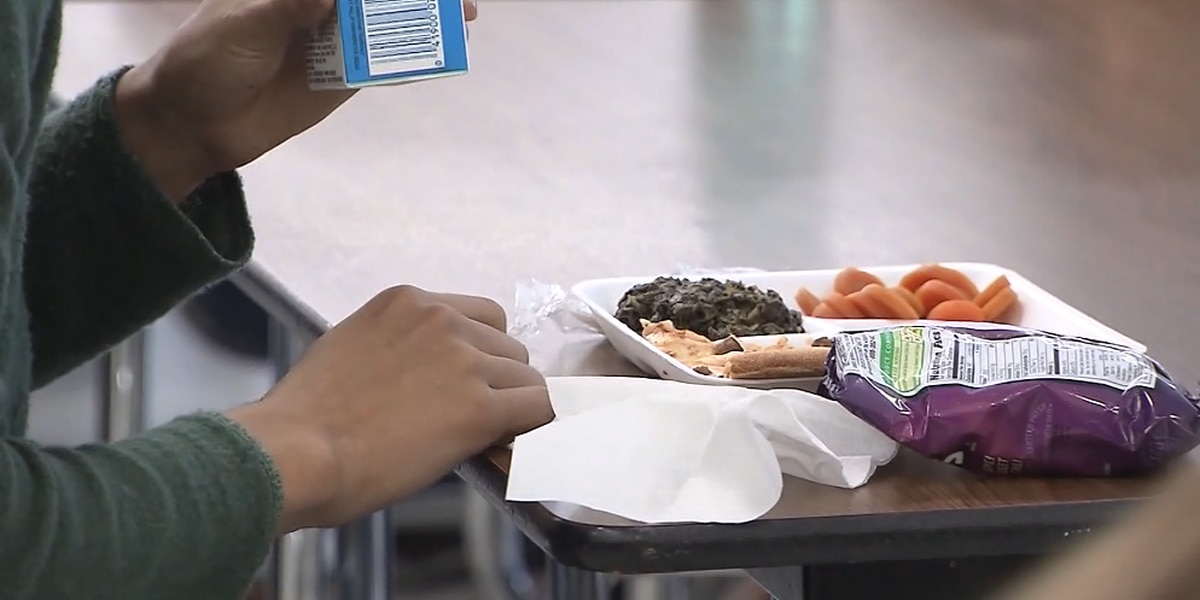 Government shutdown forces change to school lunch menu in rural county
