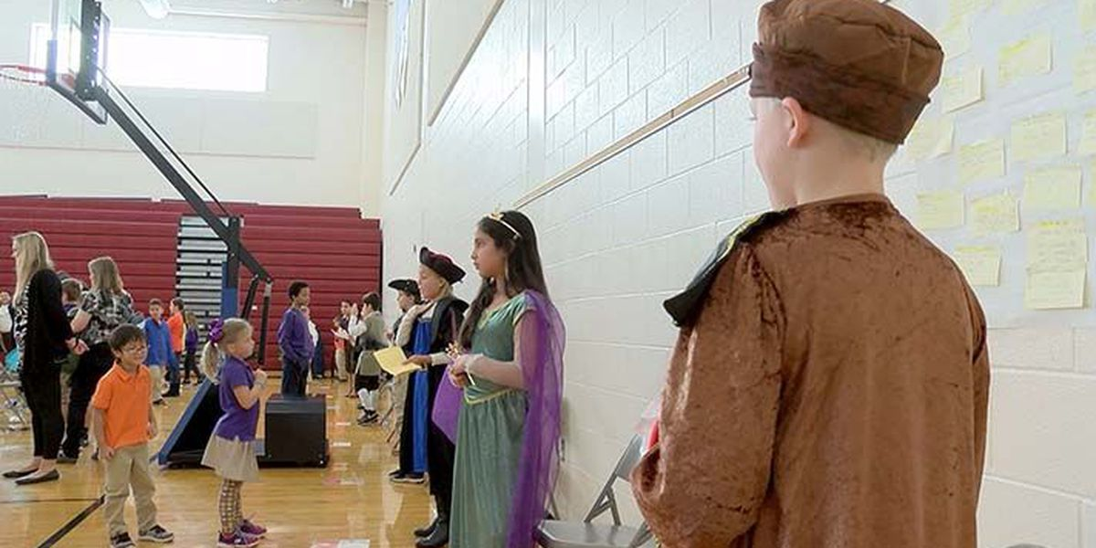 History comes to life at Farmer Elementary School