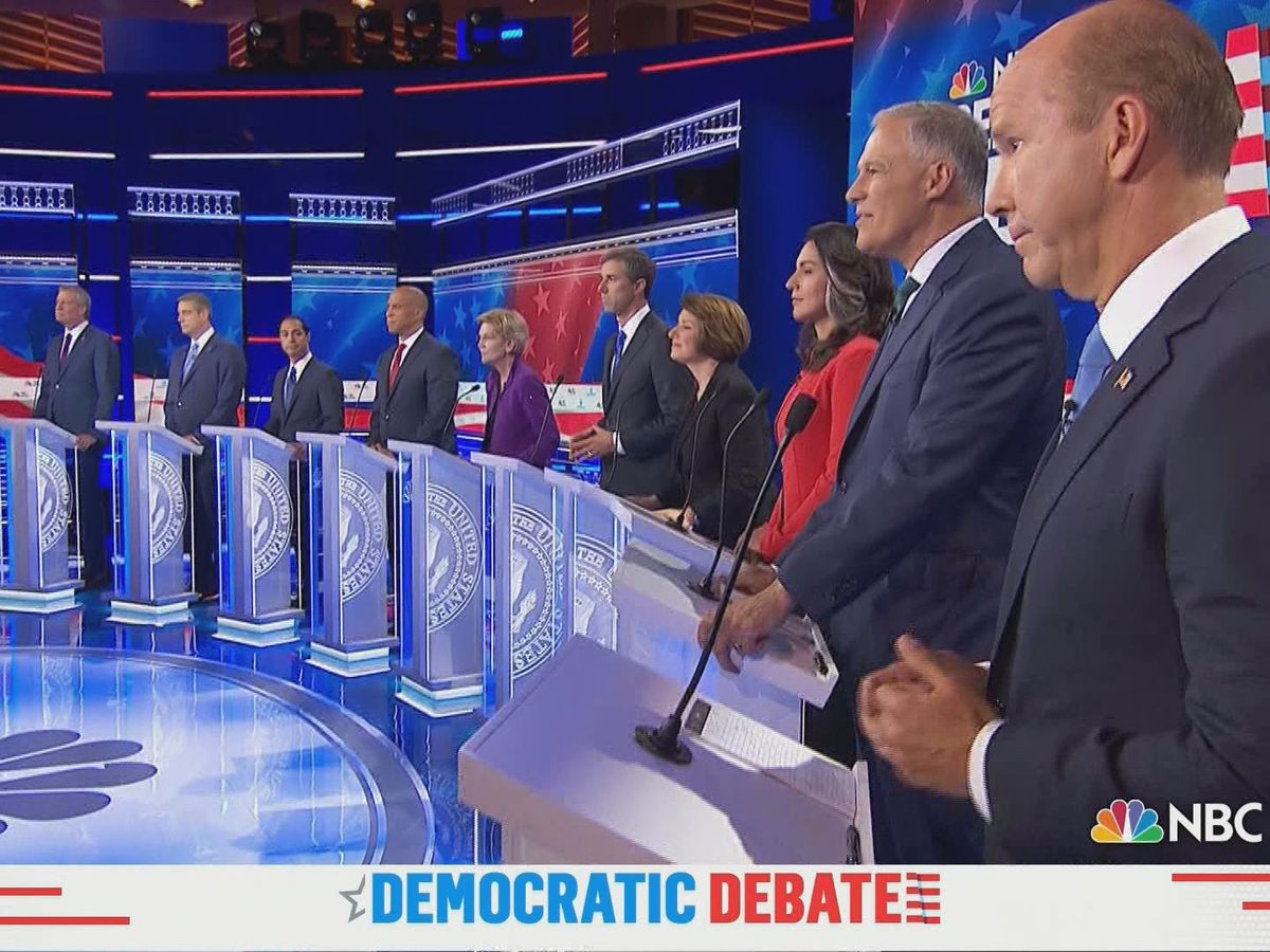 Kentucky political sphere reacts to first 2020 Democratic presidential debate