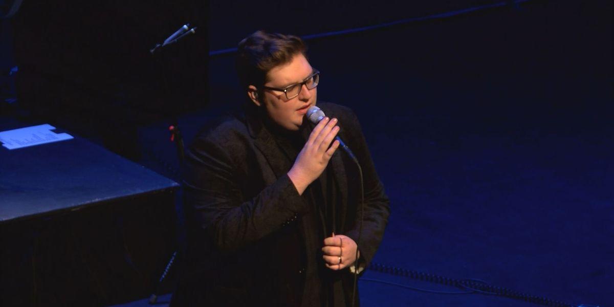 Jordan Smith performs in downtown Louisville