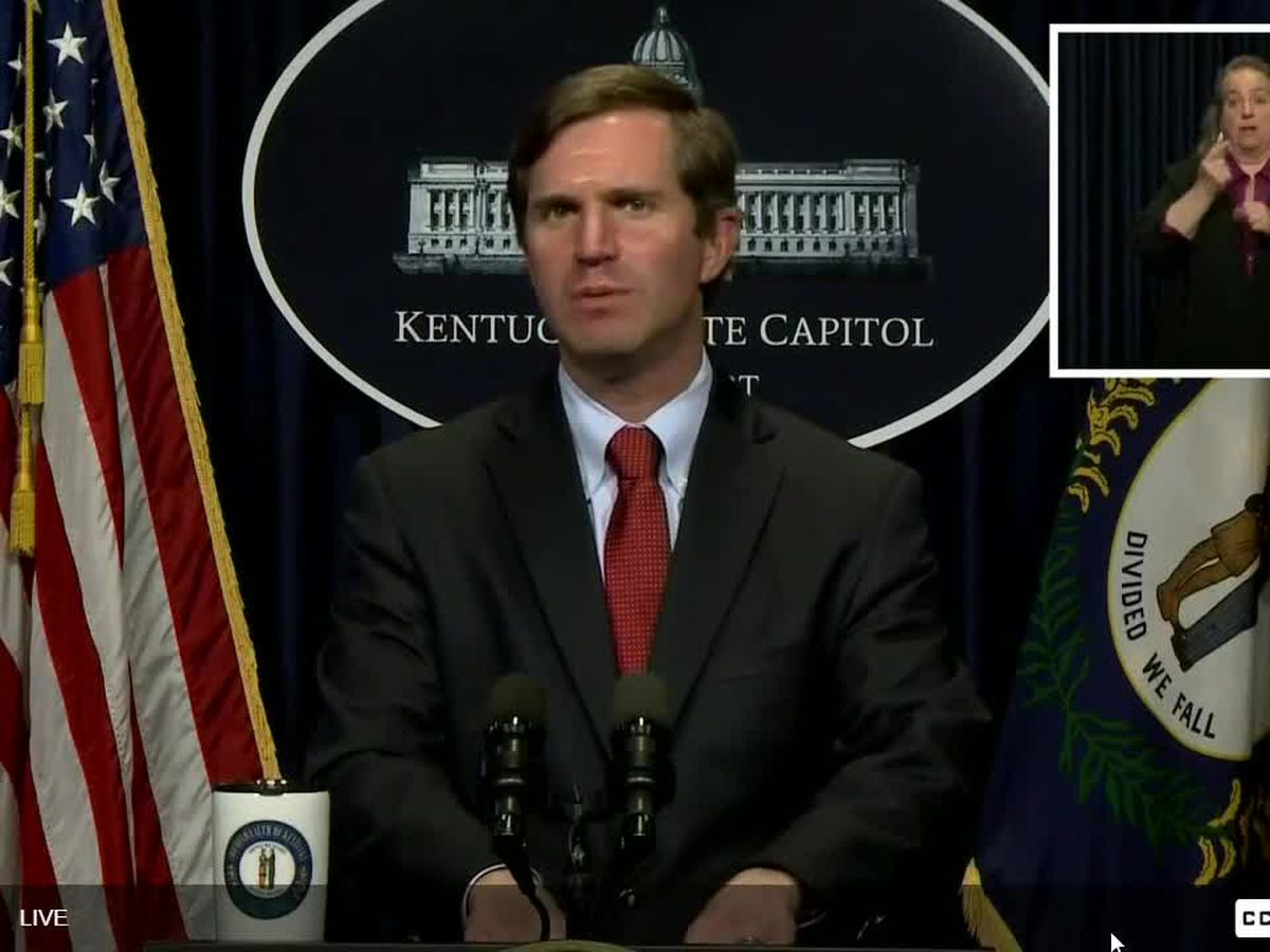 LIVE NOW: Gov. Andy Beshear's June 4 COVID-19 briefing
