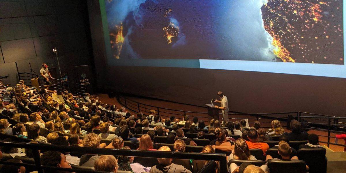 Kentucky students speak with NASA astronauts on Space Station