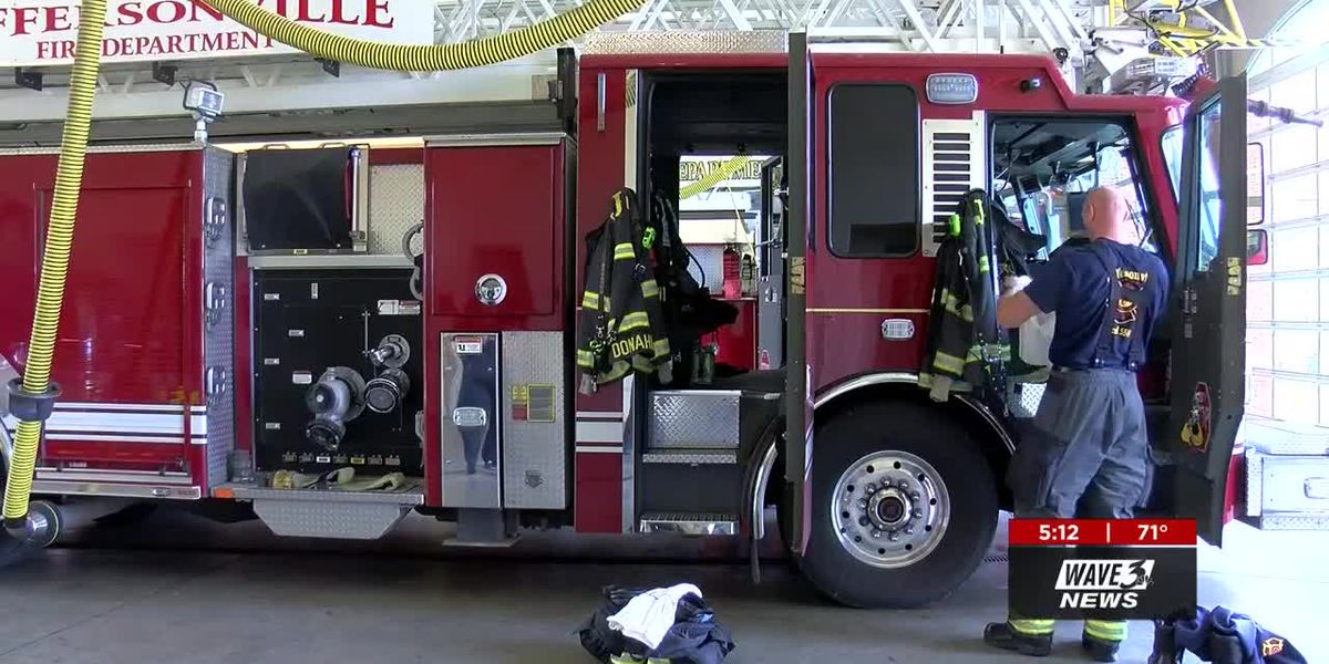 Jeffersonville Fire works to prevent cancer in firefighters