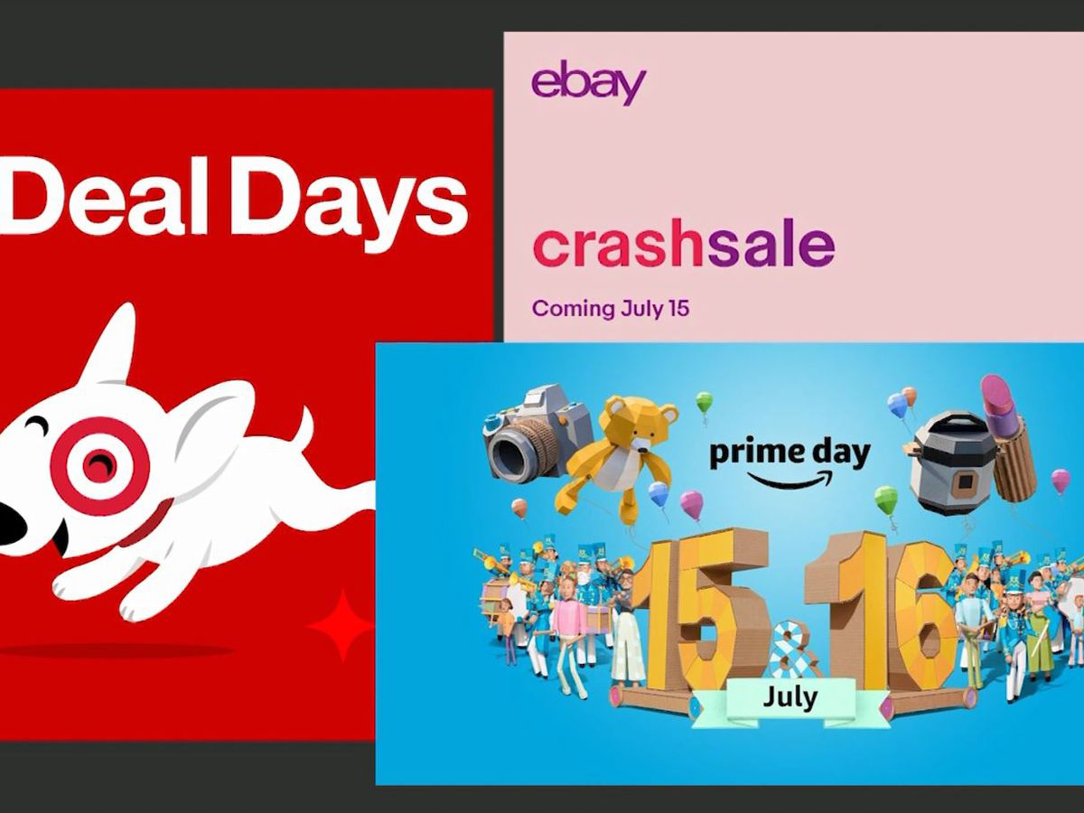 Target, eBay announce sales to compete with Amazon's Prime Day