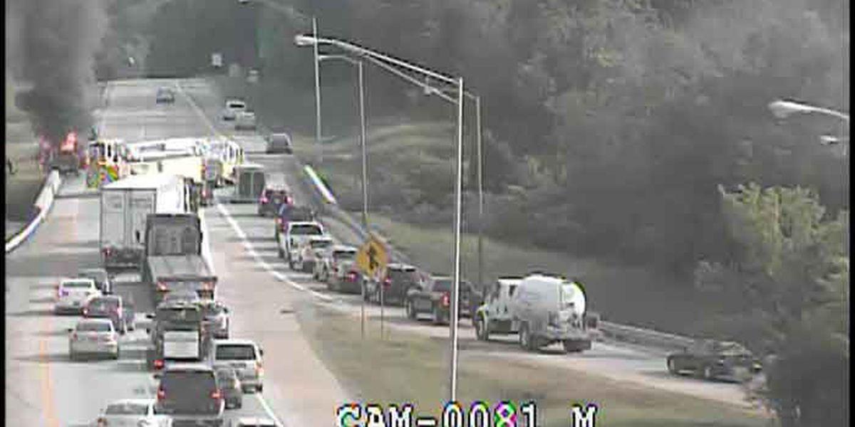 TRAFFIC ALERT: Snyder Freeway at Taylorsville Road back open after single vehicle crash