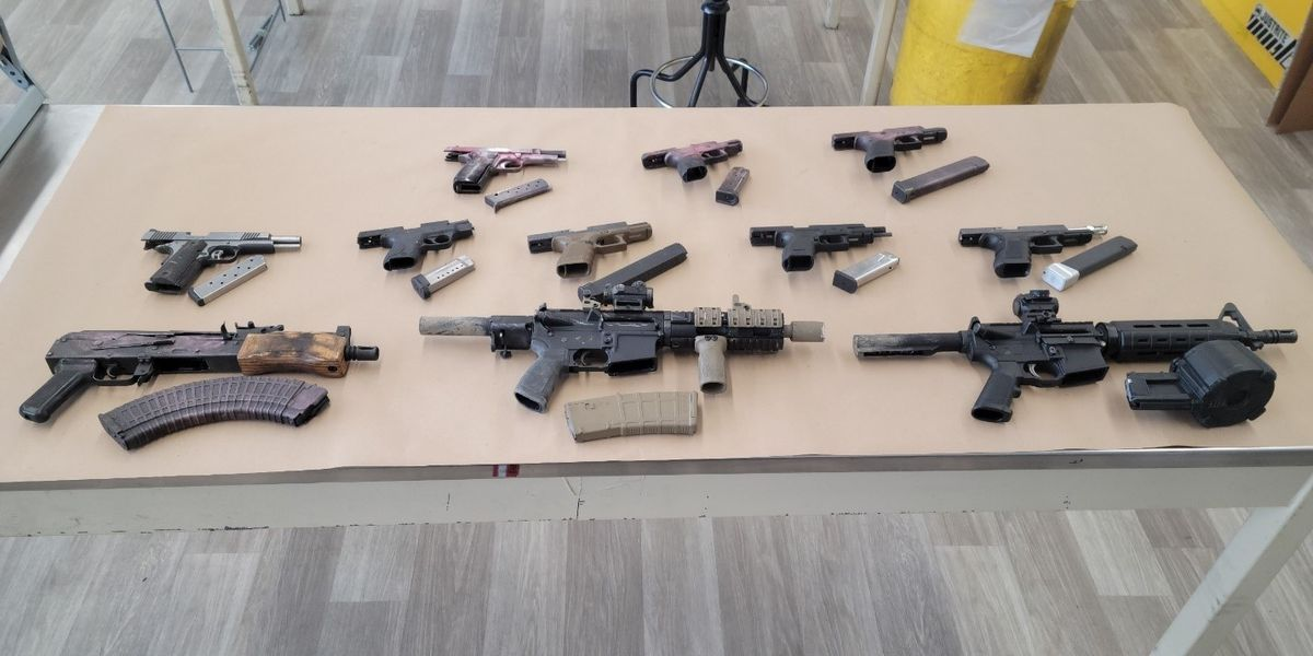 LMPD: 8 arrests, 11 guns seized following drive-by shooting