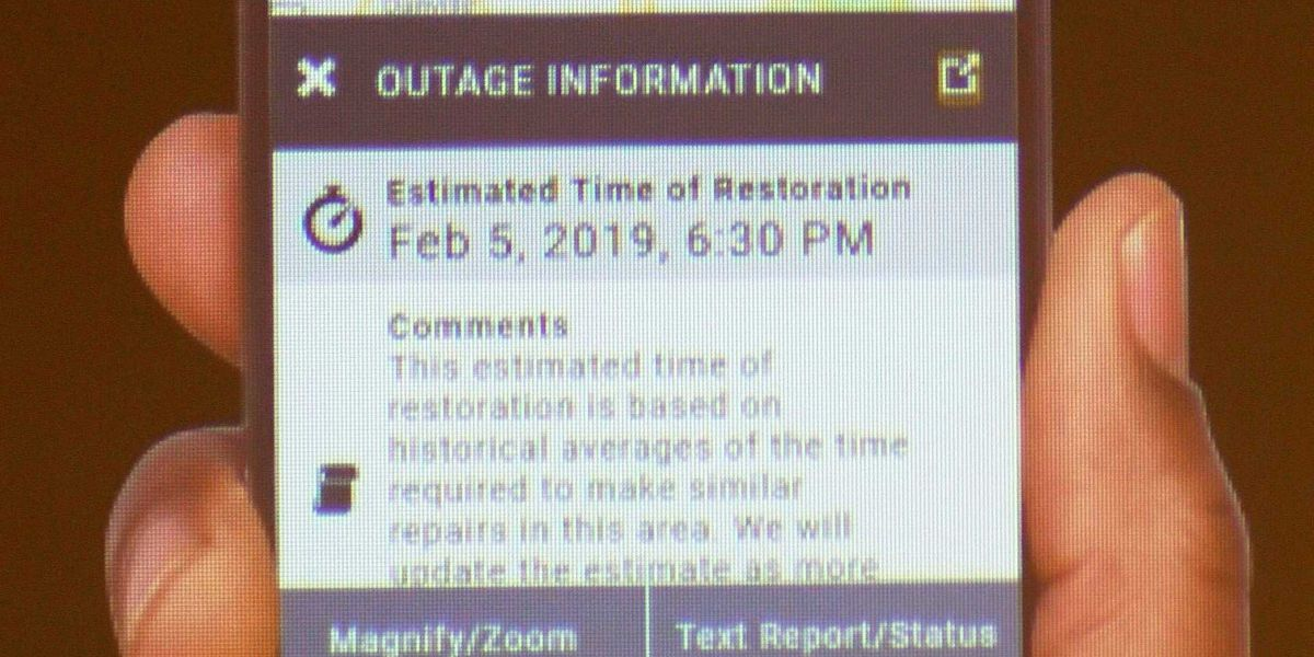 Outage Maps For Lg E And Kentucky Utilities Receive Updates