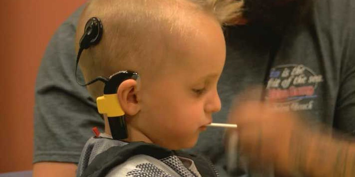 Implant allows Elizabethtown boy to hear for the first time
