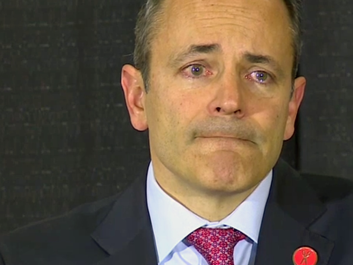 Emotional Matt Bevin spends last day as KY governor honoring veterans