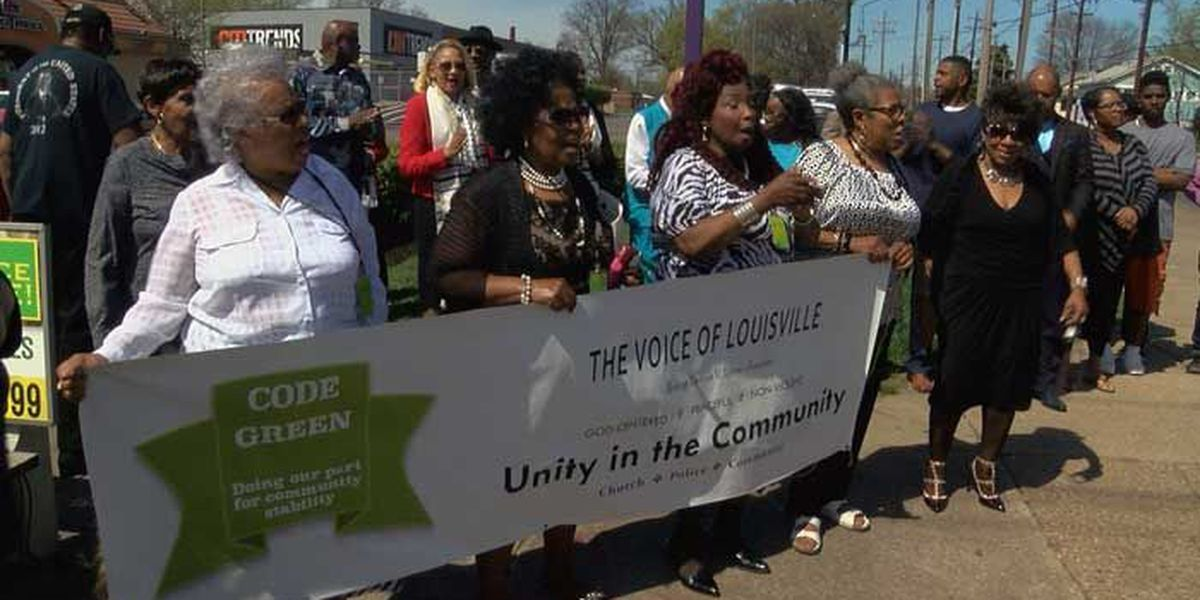 Stop the Violence rally held in west Louisville