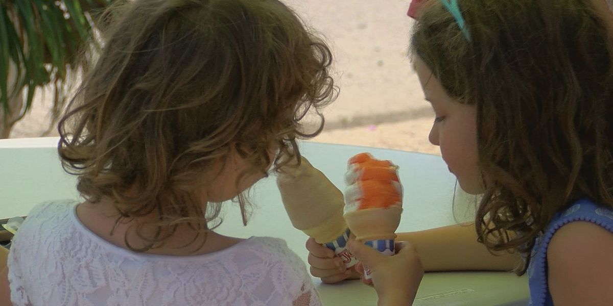 Dairy Del gives free ice cream to kids who recite Pledge of Allegiance