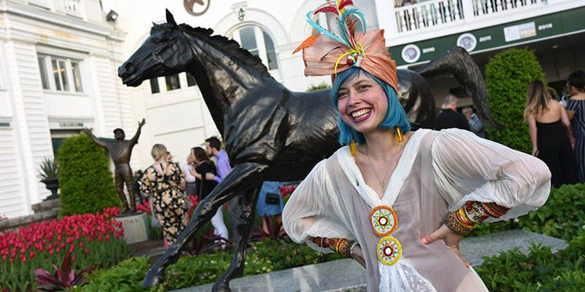 IMAGES: Opening Night at Churchill Downs
