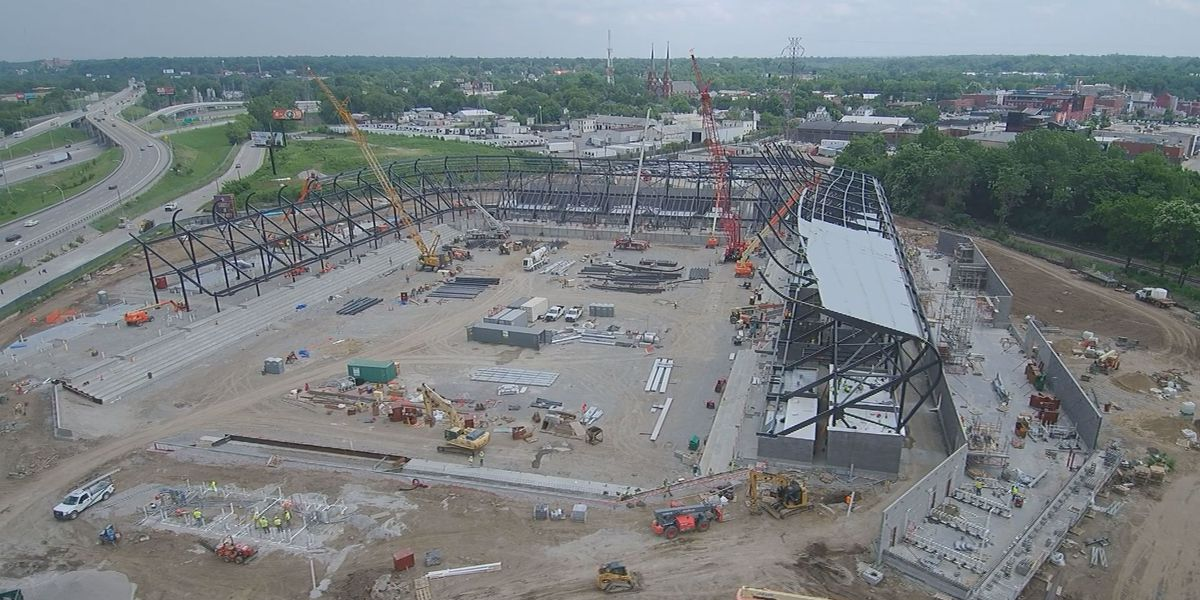 LouCity FC construction on budget and on schedule