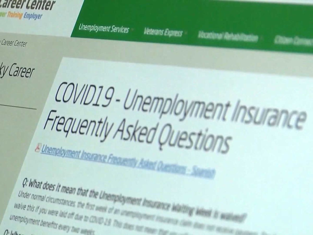 State reports 'possible cyberattack' on unemployment claims website