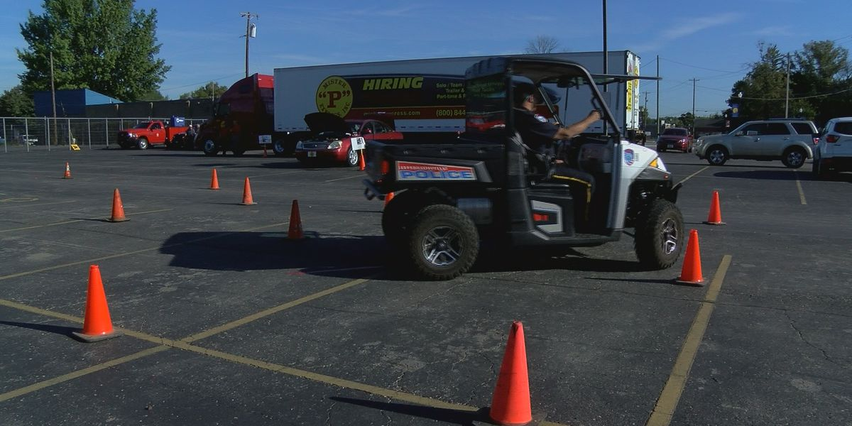 Young Jeffersonville drivers participate in 'Rule the Road'