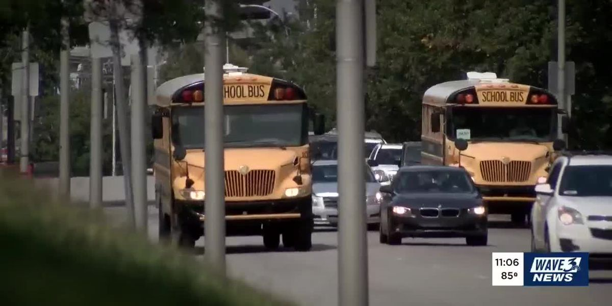 What will happen to JCPS bus drivers while kids learn from home?