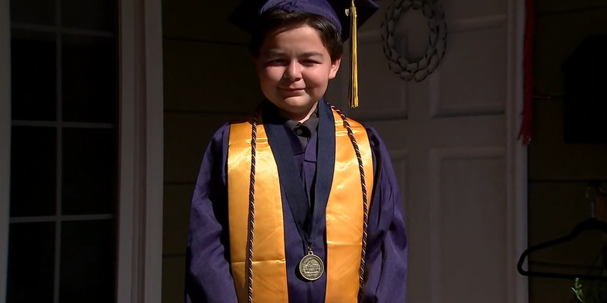 Calif. 13-year-old earns 4 associate's degrees in 2 years
