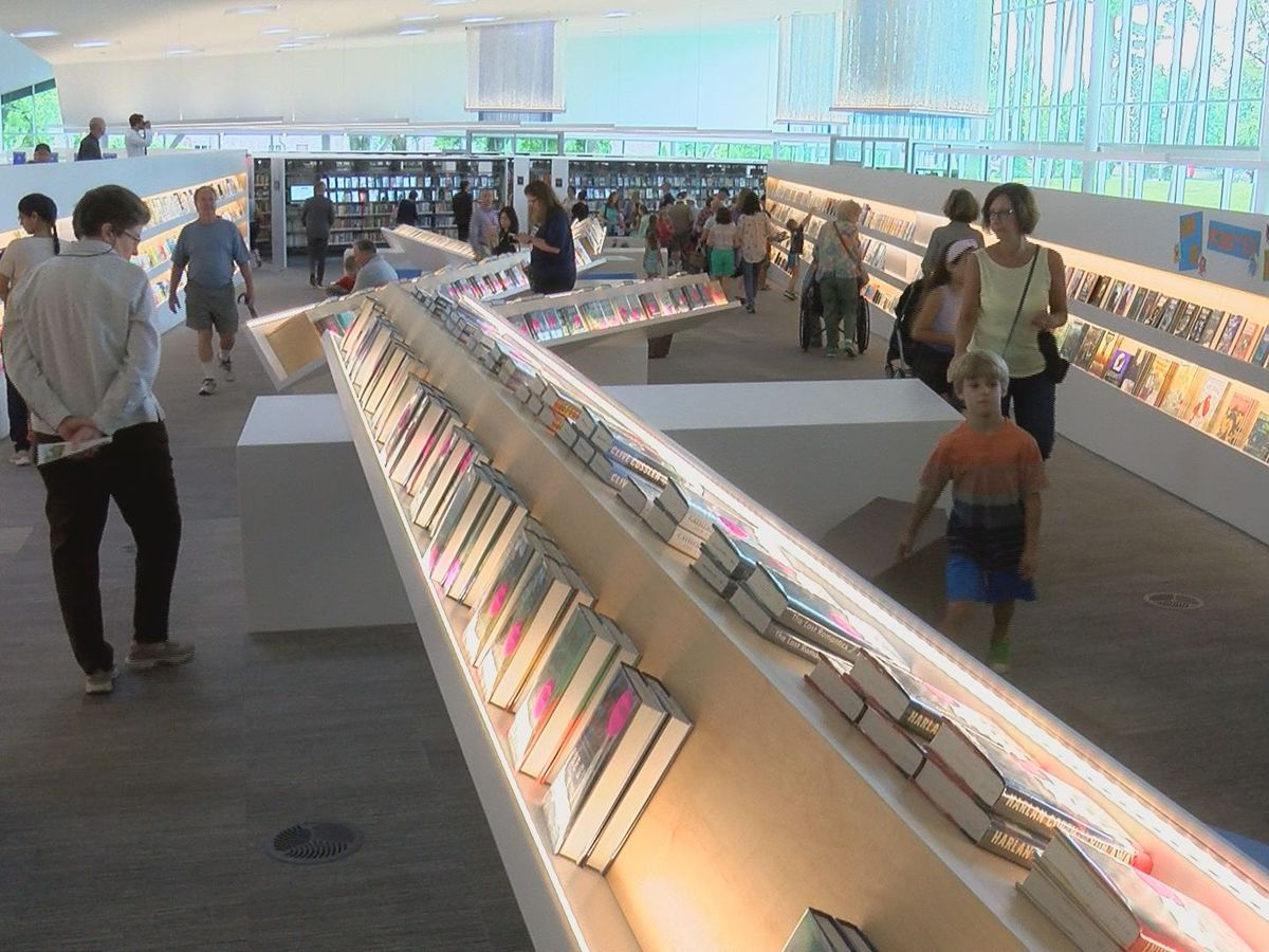 New library features makerspace, more than 120K books and materials
