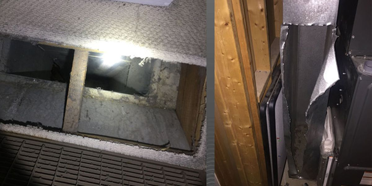 Child rescued from furnace duct in Bullitt County