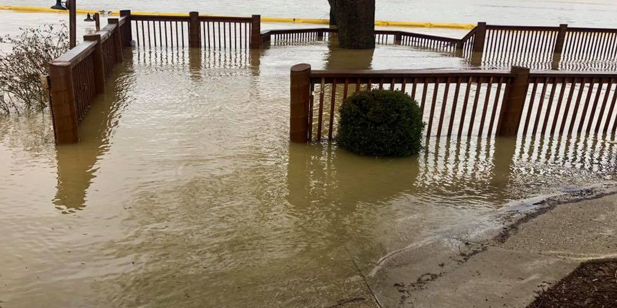 River Road restaurants go underwater, close until Ohio River receeds