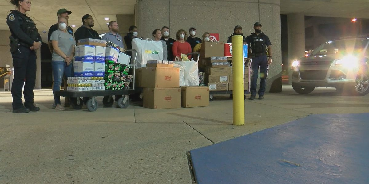 Meade County nonprofit Global Disaster Outreach delivers 1,200 meals to healthcare workers