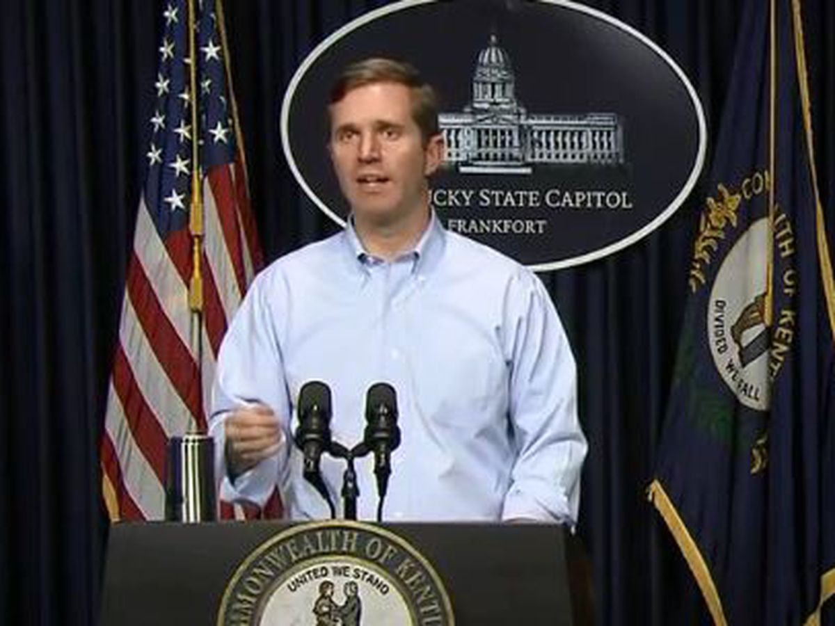 Beshear confirms 45 new cases of coronavirus in Kentucky