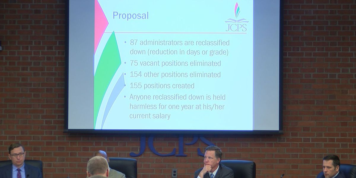 JCPS board approves controversial reorganization plan, $1.7B budget