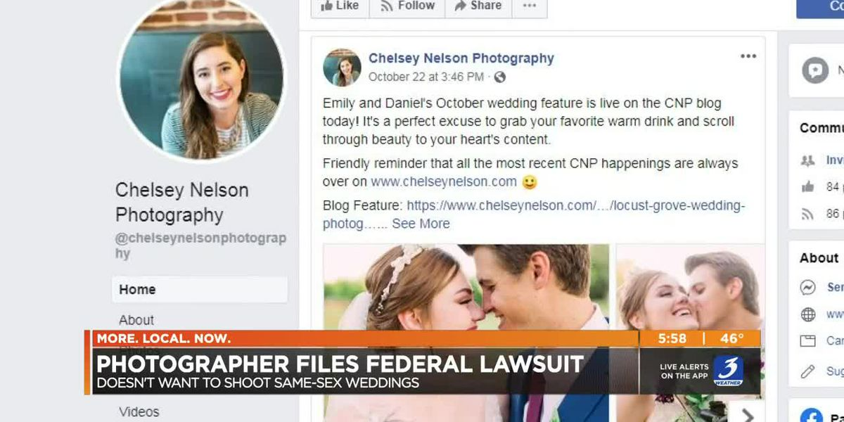 Louisville wedding photographer files suit to refuse same-sex couples