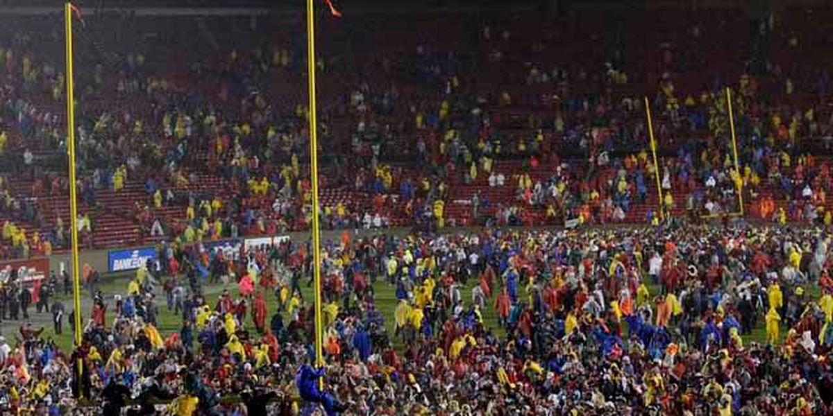 Throwback Thursday: Of downpours, goal posts and FSU upsets