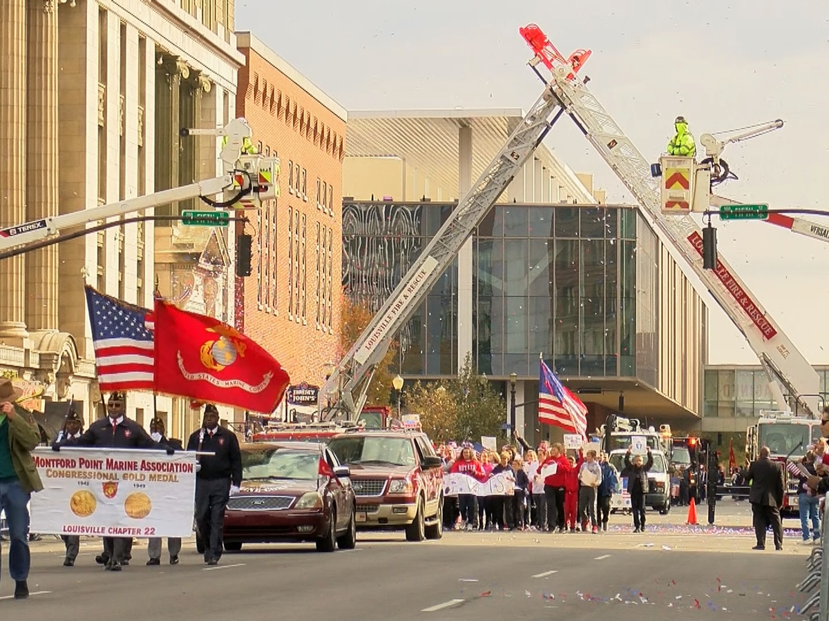 Veterans honored at annual Louisville Veterans Parade