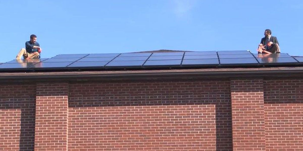 Local church turns to the sun for power