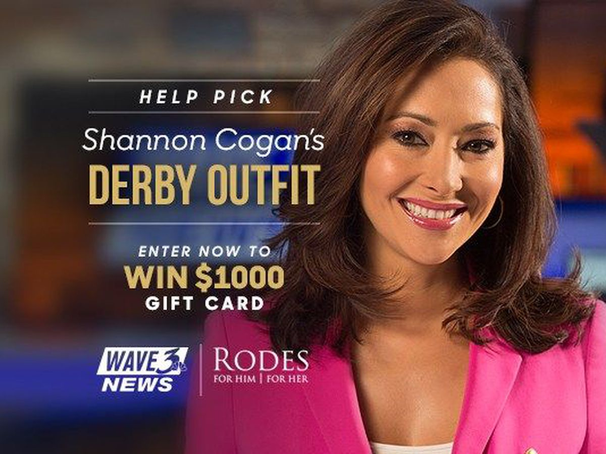 CONTEST RULES: Help Pick Shannon Cogan's Derby Outfit