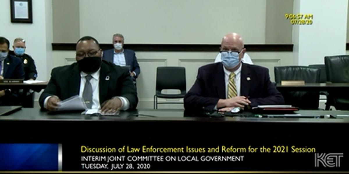 Law enforcement leaders discuss police reform